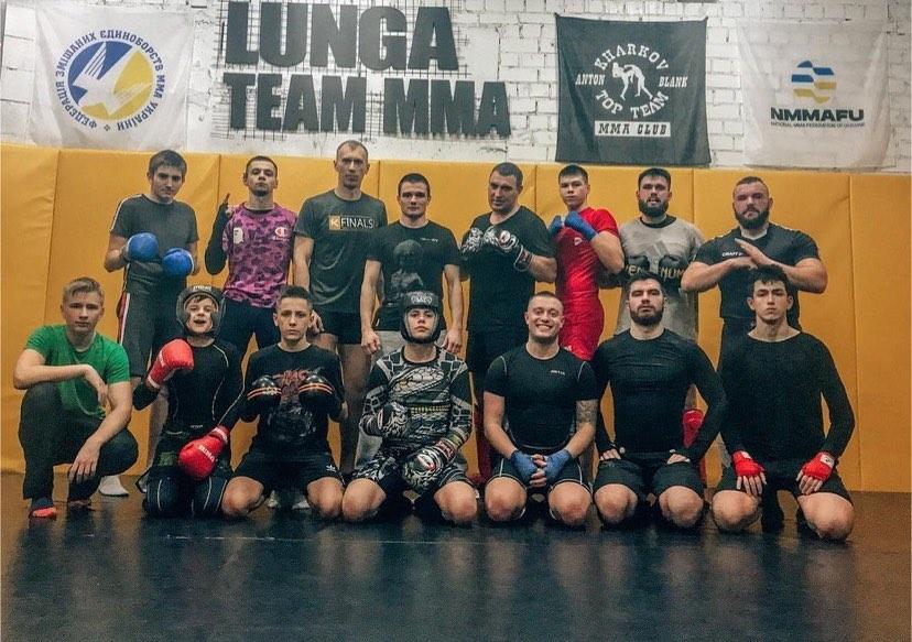 Lunga Team MMA подготовка к первым соревнованиям