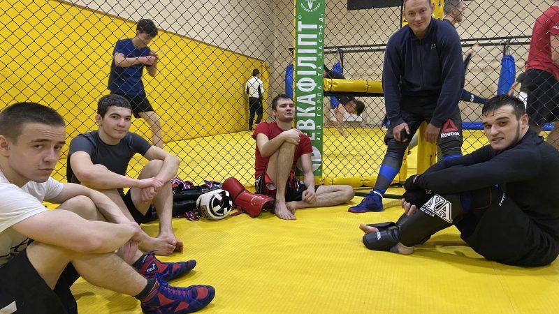 Готовимся к чемпионату Харьковской области по ММА