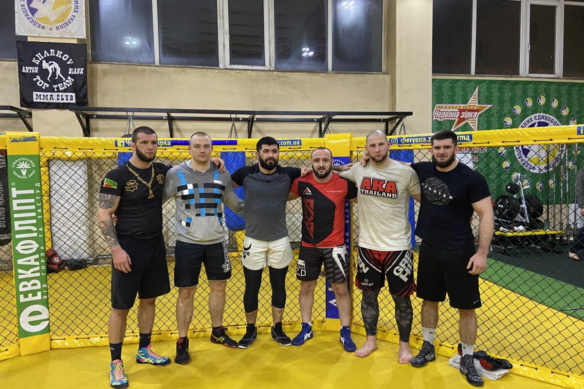 Довлетджан Ягшимурадов проходит подготовку к поединку в Bellator на базе MMA Club «Kharkov Top Team»