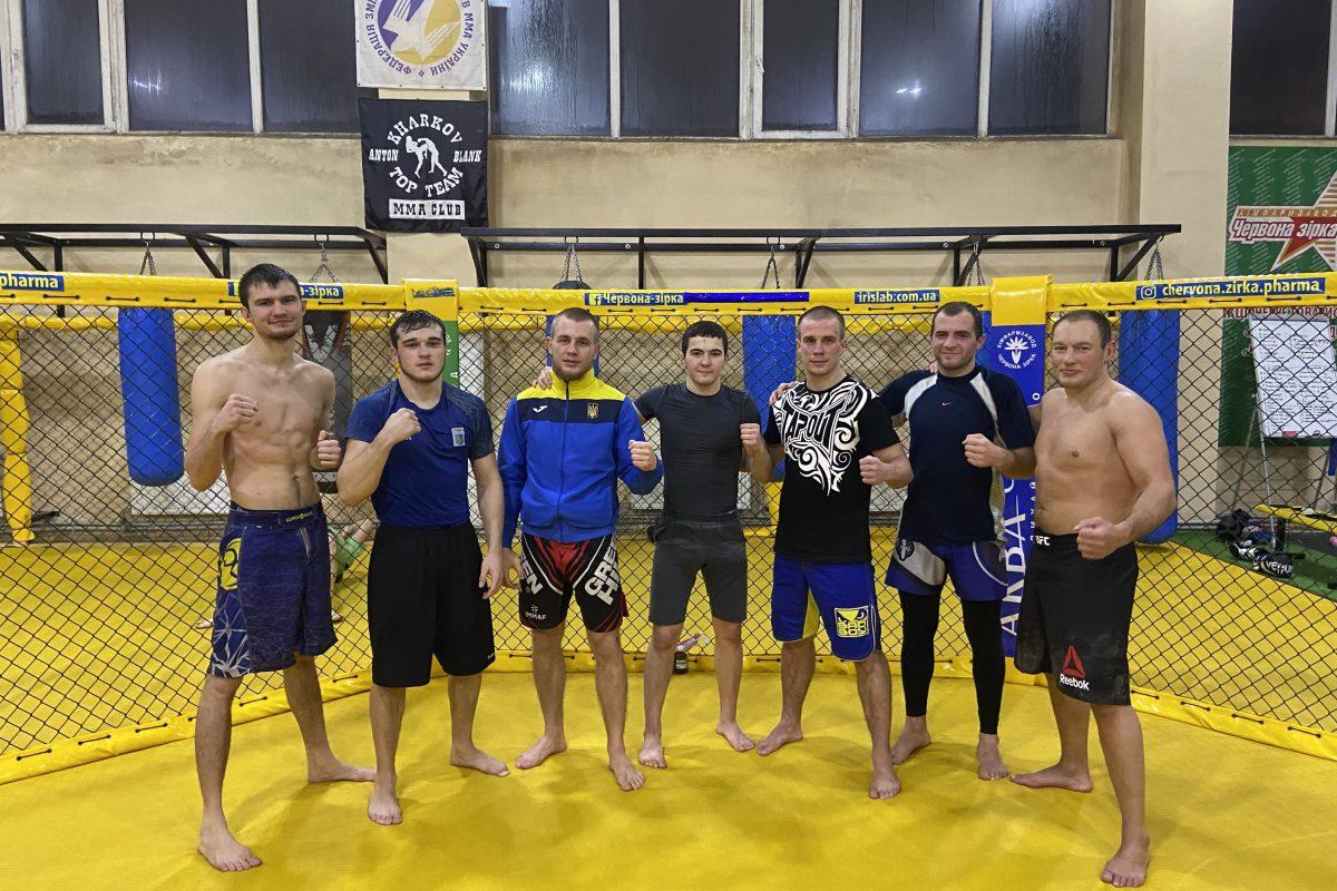 На базе MMA Club «Kharkov Top Team» готовится следующему поединку Эдуард Кексель