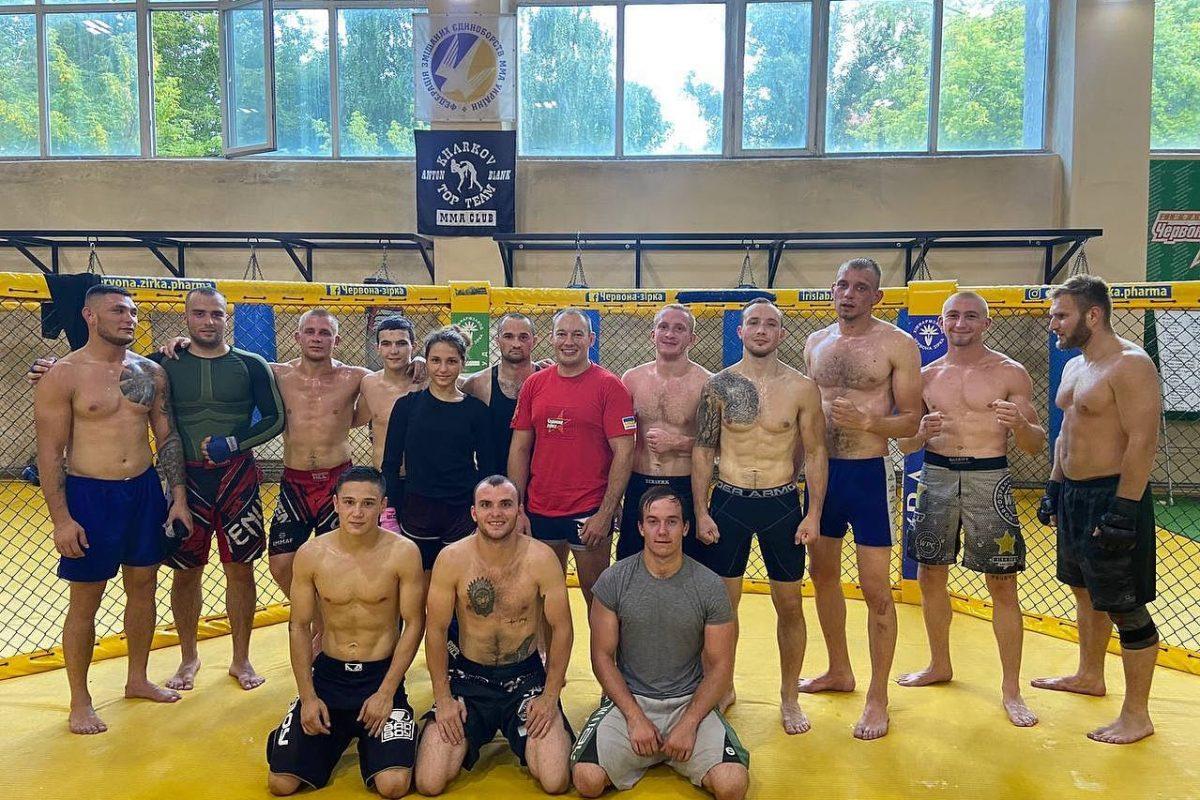 Учебно-тренировочные сборы сборной команды Вооруженных Сил Украины