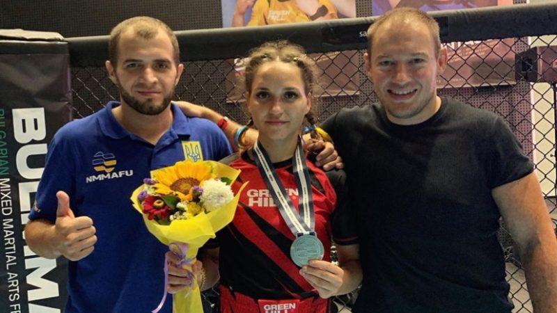Валерия Гусакова серебро на чемпионате мира в Софии