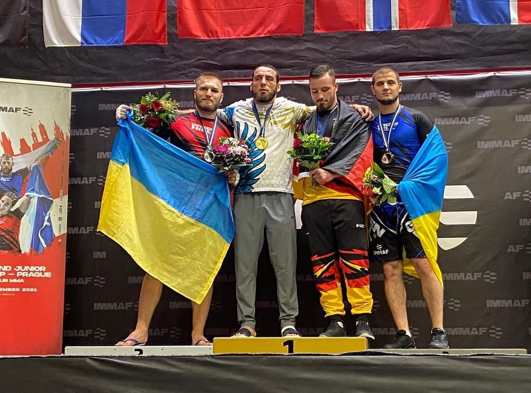 Николай Коваленко вице-чемпион мира по ММА